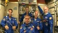 Deutscher Astronaut Gerst trifft auf der ISS ein