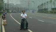 Chinese entwickelt fahrenden Koffer