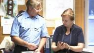Berliner Polizei twittert über Einsätze