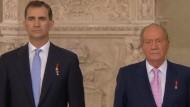 Juan Carlos dankt ab – nach fast 40 Jahren auf dem Thron