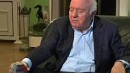 Eduard Schewardnadse gestorben