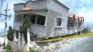 Zerstörung nach schwerem Erdbeben