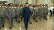 Kim Jong-un schien im Juli schon zu hinken