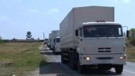 Verhandlungen über russischen Hilfskonvoi gehen weiter