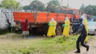 Ebola-Patient flüchtet aus Klinik
