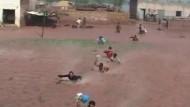 Tausende flüchten vor Hochwasser