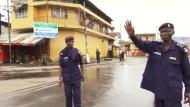 Ausgangssperre macht Freetown zur Geisterstadt