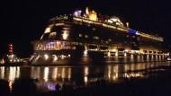 'Quantum of the Seas' auf dem Weg in die Nordsee