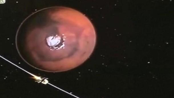 Indien schafft es bis zum Mars