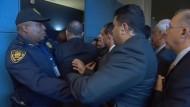 Gerangel bei der UN zwischen Sicherheitskräften