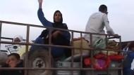 Islamischer Staat erweitert Kampfzone