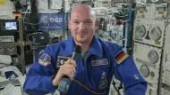 Astronaut Gerst sieht Explosion der Rakete nüchtern