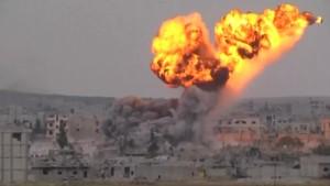 Erste Peschmerga erreichen Kobane