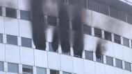 Feuer bei Radio France