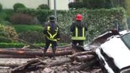 Ein Toter bei Erdrutsch in Italien