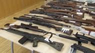 Spektakulärer Waffenfund in Bayern