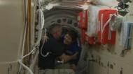 Neues Team in Weltraumstation angekommen