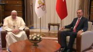 Papst Franziskus bei Erdogan