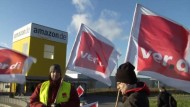 Gewerkschaft Verdi: Druck auf Amazon erhöhen
