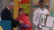 Mann stört Verleihung des Friedensnobelpreises