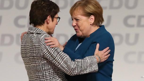 Annegret Kramp-Karrenbauer ist neue Vorsitzende der CDU