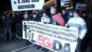 Legida lockt weniger Demonstranten als erwartet