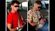 Stockschläge und Haft für zwei Deutsche