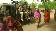Soldaten finden Boko-Haram-Hinrichtungsort