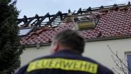 Brandstiftung in geplantem Flüchtlingsheim