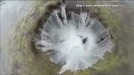 Lava-Tunnel lässt See verschwinden