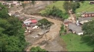 Viele Tote nach Erdrutsch in Kolumbien