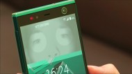 Handy durch Augenkontakt entsperren
