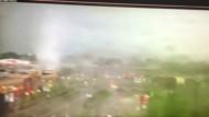 Tornado wütet in amerikanischer Kleinstadt