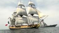 """Nachbau des französischen Segelschiffes Hermione"""" segelt über den Atlantik"""