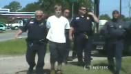 Polizei veröffentlicht Video von Festnahme des Charleston-Attentäters