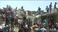Irakische Bombe fällt unbeabsichtigt auf Bagdad