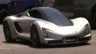 Sportwagen aus dem 3D-Drucker