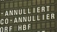 Lufthansa-Piloten gehen in den zweiten Streiktag