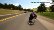 112 km/h mit dem Skateboard