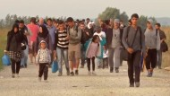 Tausende Flüchtlinge in Kroatien angekommen
