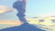 Vulkan in Mexiko erneut ausgebrochen