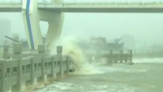 "Taifun ""Mujigae"" wütet in Südchina"