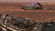 Experten vermuten Bombe als Ursache des Flugzeugabsturzes