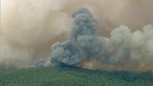 Buschbrände zerstören mehr als hundert Häuser