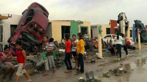 Tornado tötet mindestens 13 Menschen in Mexiko