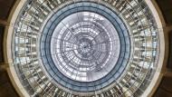 Hoffentlich ohne Risse: Die gläserne Decke im Bundestag