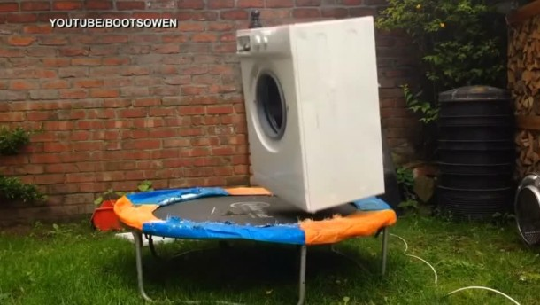 internet hit waschmaschine h pft auf trampolin gesellschaft faz. Black Bedroom Furniture Sets. Home Design Ideas