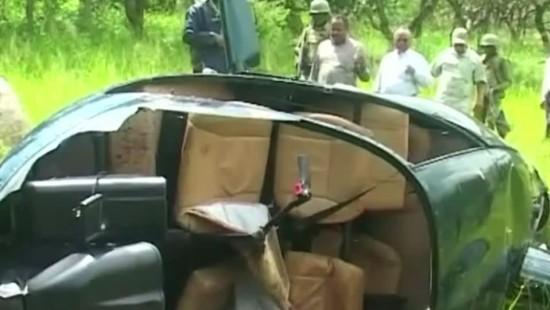 Wilderer schießen Hubschrauber ab