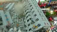 Tote nach schwerem Erdbeben