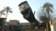 Zugunglück in Ägypten
